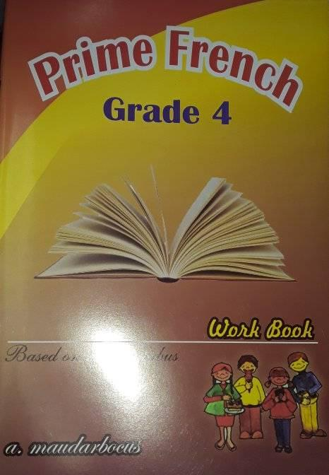 PRIME FRENCH WORKBOOK